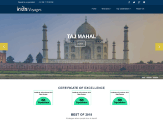 india-voyages.com screenshot