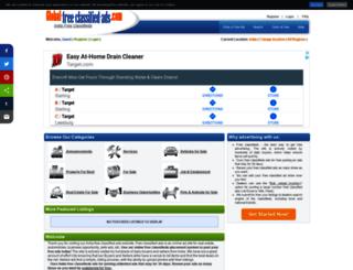 india.global-free-classified-ads.com screenshot