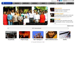 india.jesusyouth.org screenshot
