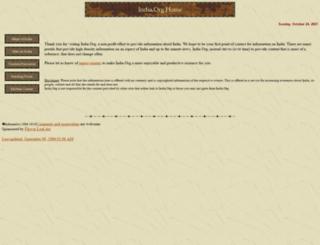 india.org screenshot