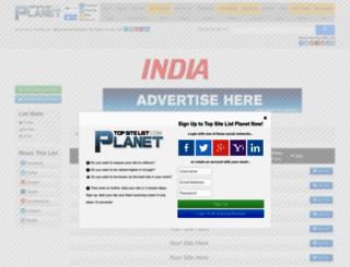 india.top-site-list.com screenshot