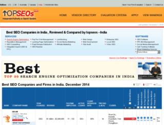 india.topseos.com screenshot