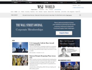 india.wsj.com screenshot