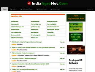 indiaagrijobs.com screenshot