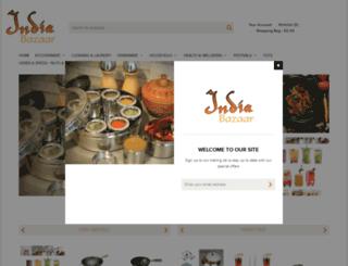 indiabazaar.co.uk screenshot