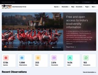 indiabiodiversity.org screenshot