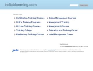 indiablooming.com screenshot