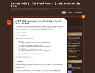 indiaboardresults.wordpress.com screenshot