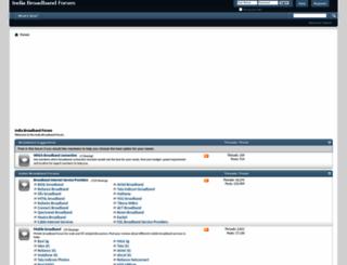 indiabroadband.net screenshot