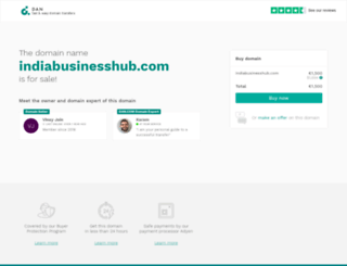indiabusinesshub.com screenshot