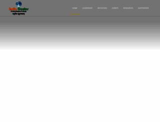 indiacenterfoundation.org screenshot