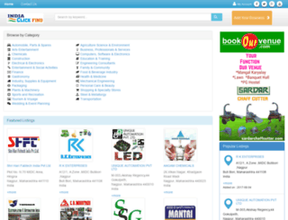 indiaclickfind.com screenshot