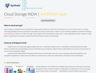 indiacloudstorage.weebly.com screenshot