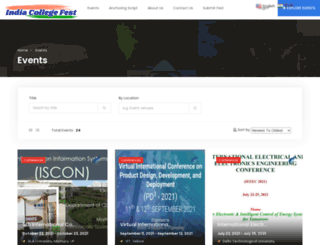 indiacollegefest.com screenshot