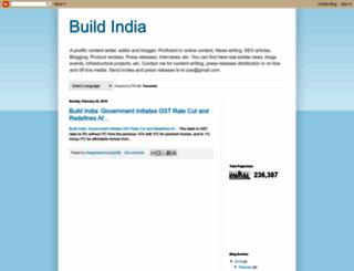 indiaconstructionupdate.blogspot.in screenshot