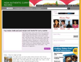 indiacurryrecipes.com screenshot
