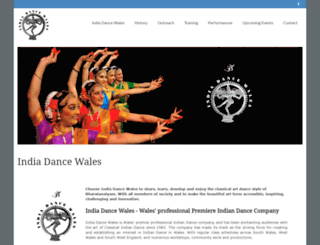 indiadancewales.com screenshot