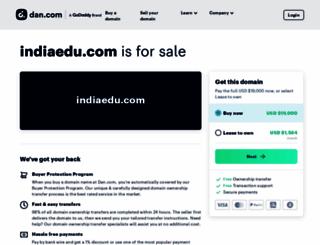 indiaedu.com screenshot