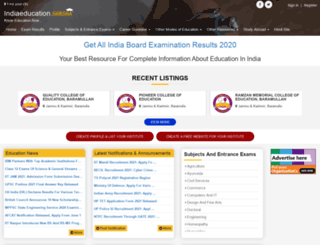 indiaeducation.info screenshot