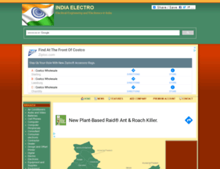 indiaelectro.in screenshot