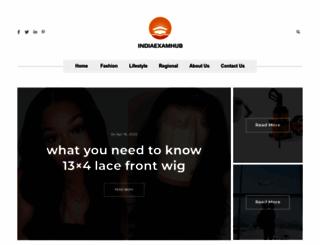indiaexamhub.com screenshot