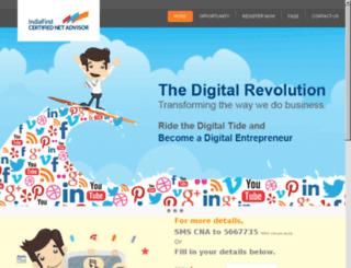 indiafirstnetadvisor.com screenshot