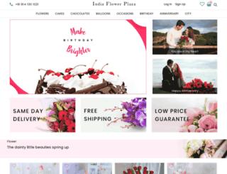 indiaflowerplaza.com screenshot