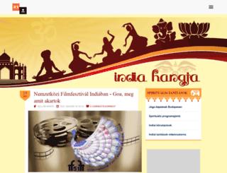 indiahangja.reblog.hu screenshot