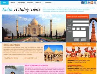 indiaholidaytours.tradeget.com screenshot