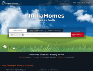 indiahomes.com screenshot