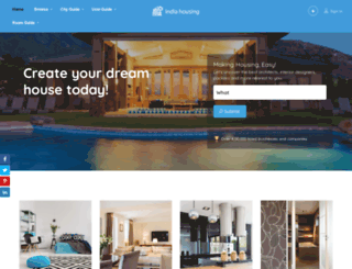 indiahousing.com screenshot