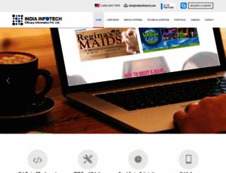 indiainfotech.com screenshot