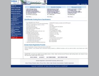 indiaisp.net screenshot