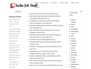 indiajobstuff.com screenshot