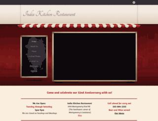 indiakitchenabq.com screenshot