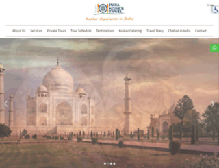 indiakoshertravel.com screenshot