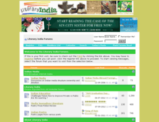 indialiterary.com screenshot