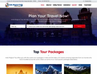 indiamagicaltrip.com screenshot