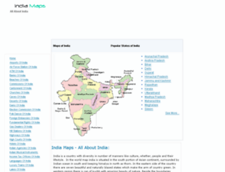 indiamaps.in screenshot