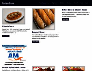 indian-cook.com screenshot