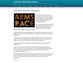 indian-defense-news.blogspot.com screenshot