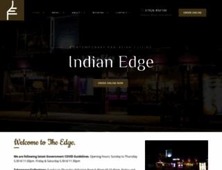 indian-edge.co.uk screenshot