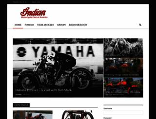 indian-motorcycles.com screenshot