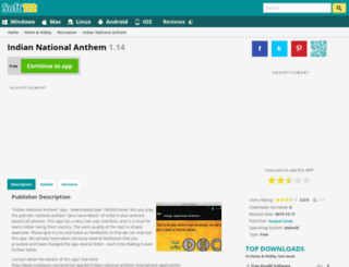 indian-national-anthem.soft112.com screenshot