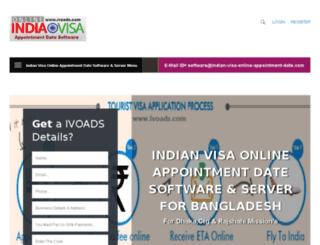 indian-visa-online-appointment-date.com screenshot