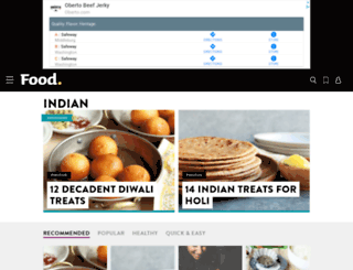 indian.food.com screenshot