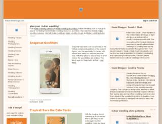 indian.weddings.com screenshot