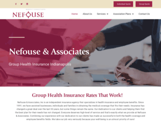 indianahealthinsurance.com screenshot
