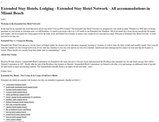 indianapolis.extendedstayhotelnetwork.com screenshot