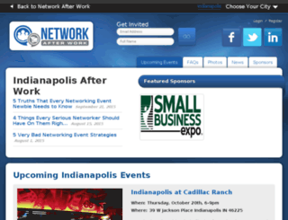 indianapolis.networkafterwork.com screenshot